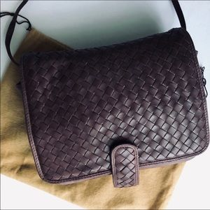 Bottega Veneta Crossbody Bag BROWN